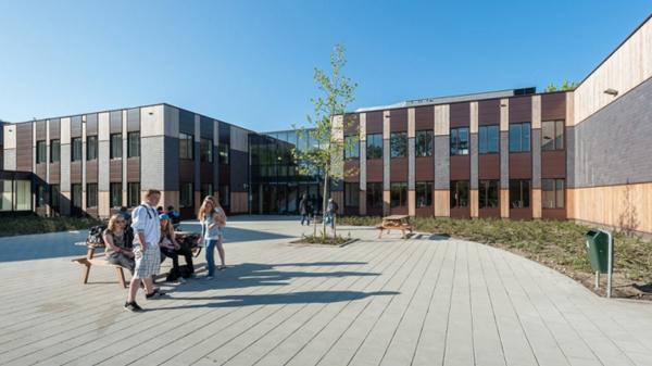 Renovatie en nieuwbouw Daaf Geluk School Haarlem