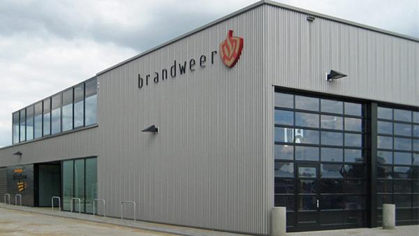 Nieuwbouw Brandweerpost en gemeentewerf Alphen Chaam