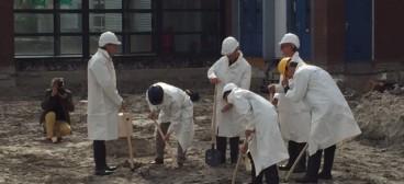 Start bouw Copernicus Scholengemeenschap te Hoorn